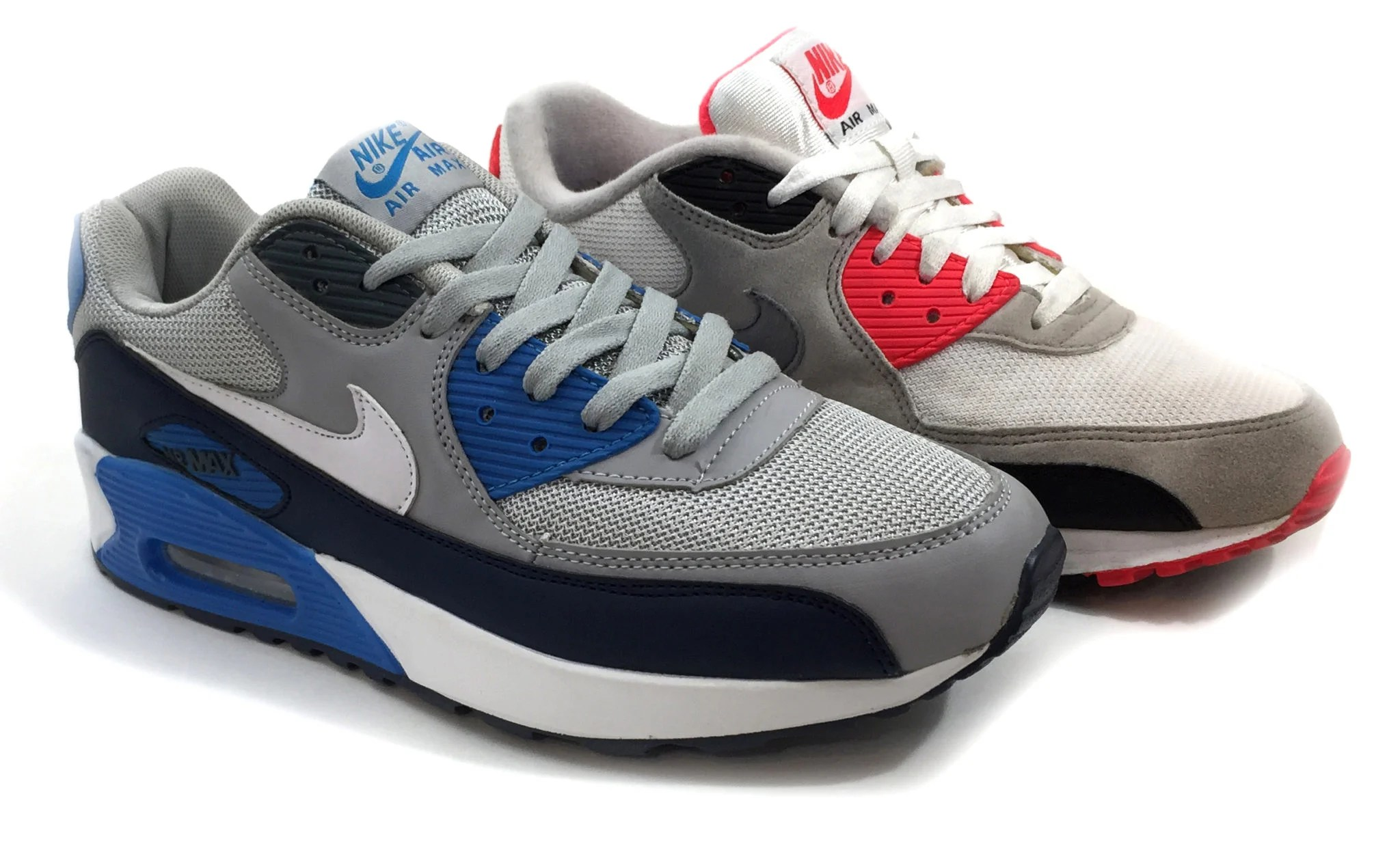 pase a ver Electropositivo yo lavo mi ropa  Nike Air Max 90 Counterfeit vs. Real - How do you know? SneakerFactory.net