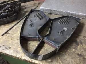 shoe cuttings die