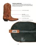 Inside Cowboy boots