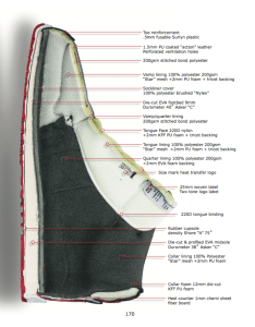 What's inside the classic basketball shoes. How are shoes constructed. Types of shoe construction.