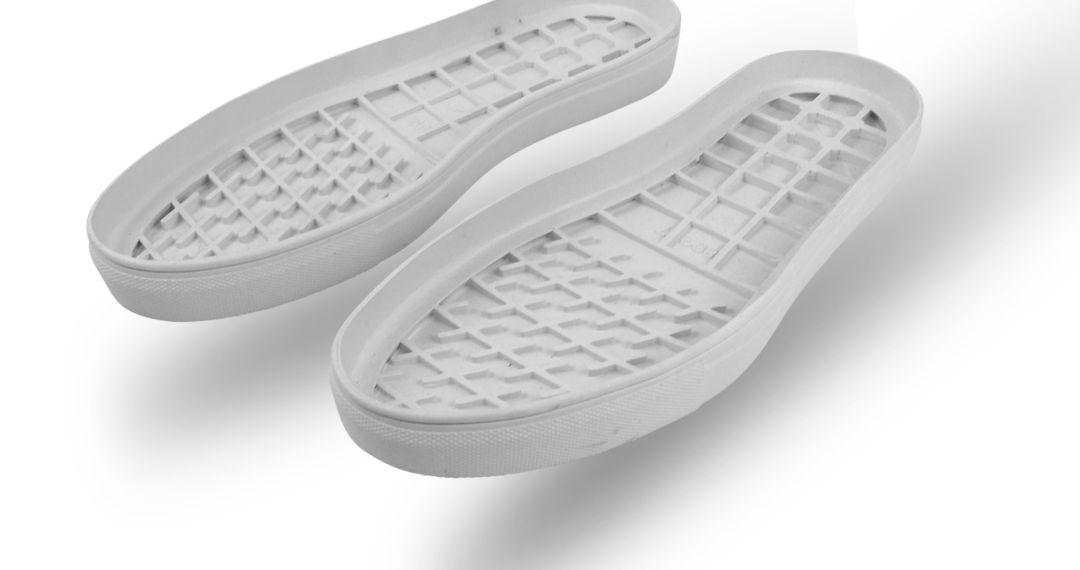 Outsoles for DIY shoemaking Rubber cupsole outsole Faux vulcanized Margom styling. Egg crate cushioning. DIY resole