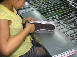 Vulcanized shoe construction - Trimming Tape