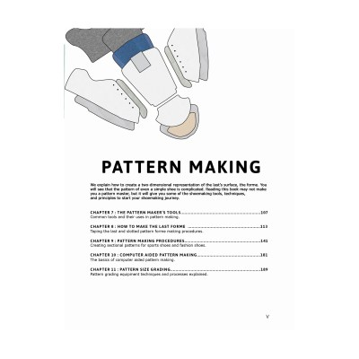 Pattern Cutting: Step by Step Patterns for Footwear