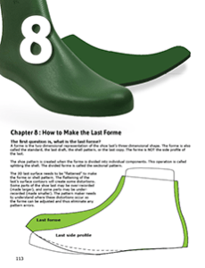 CHAPTER 8 : HOW TO MAKE THE LAST FORME How to make the shell pattern or forme of the last Taping the last and slotted pattern forme making procedures.