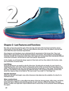 LAST FEATURES AND FUNCTIONS Types of shoe lasts, fitting, and key functional attributes. Why are lasts shaped this way?