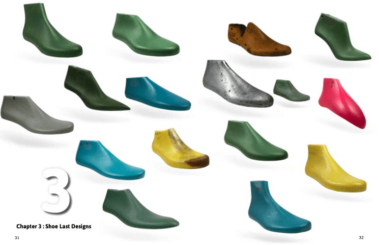 What is shoe last type shoe last chart