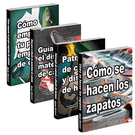 descargar cuatro libros de zapatería
