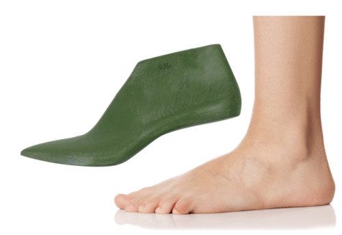 The modern shoe last is not a replica of the human foot. The shoe last is a generalization of the human foot with care taken to account for natural articulation and volumetric changes as the foot moves and flexes.