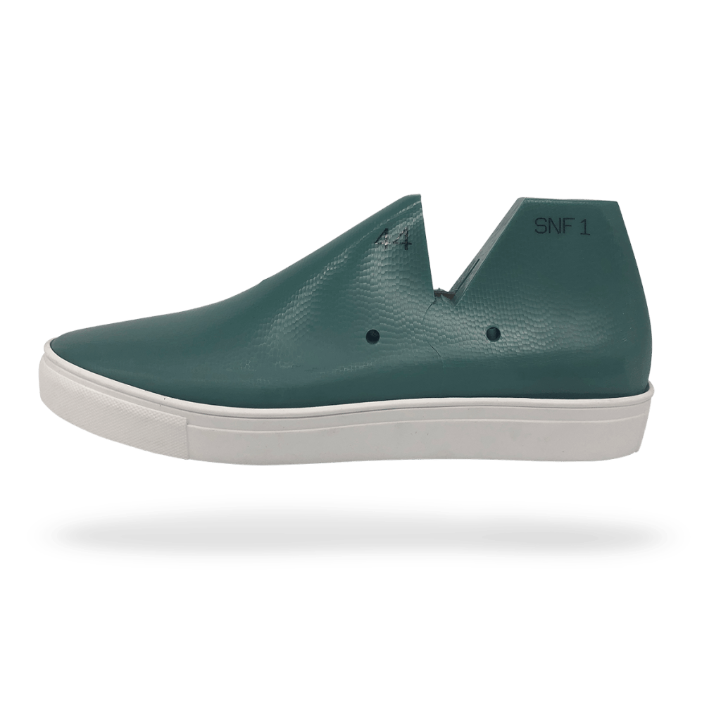 Sneaker Last and Sole side view DIY shoemaking kit