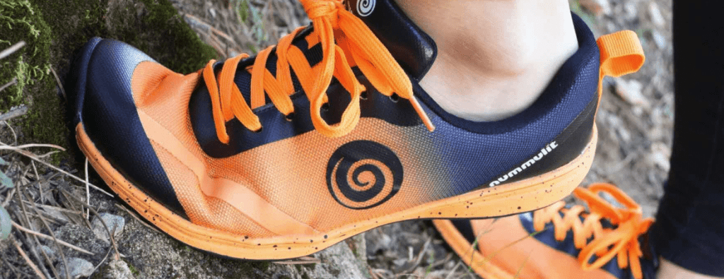 The barefoot sport shoe Nummulit Ignis provides lightness, flexibility and stability for every workout, walk or run.