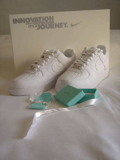 Tiffany And Co Air Force One Lace Clips Sneakerfiles