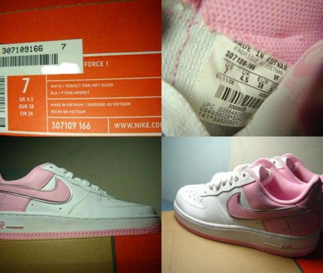Nike Air Force One Lv Love Valentine