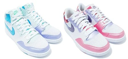 Nike WMNS Court Force High and Low - Laces Kaleidoscopic