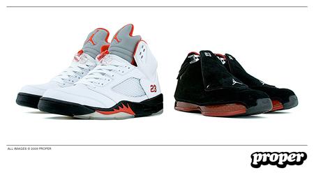 Air Jordan 18 / 5 Countdown Package