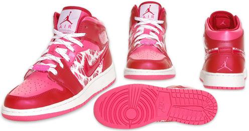 Air Jordan 1 I Retro Kids Valentines Day SneakerFiles