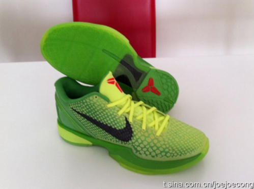 Nike Zoom Kobe VI 'Grinch/Christmas'