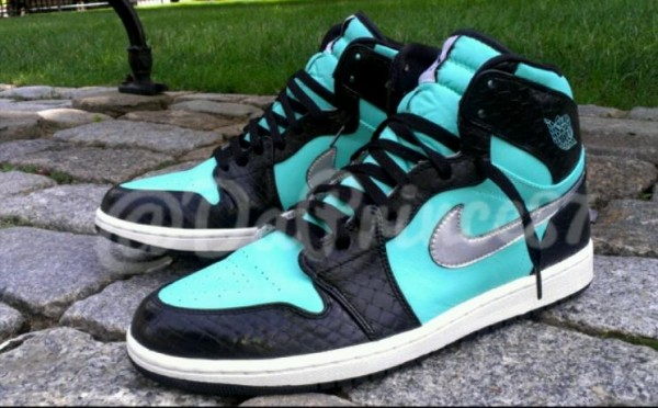 Air Jordan 1 High Tiffany Custom by D Prince Customs