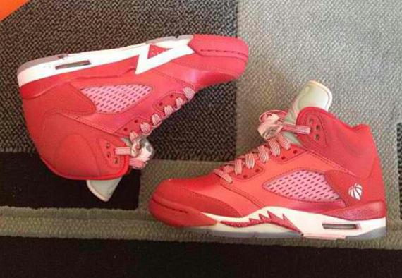 Air Jordan 5 GS Valentines Day SneakerFiles
