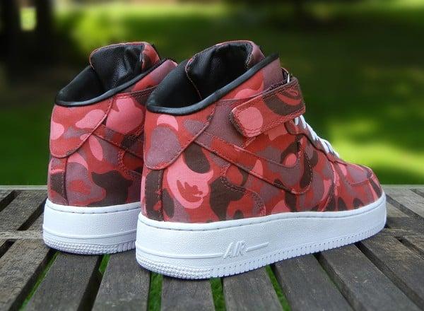 Nike Air Force 1 Mid Bape Custom  SneakerFiles