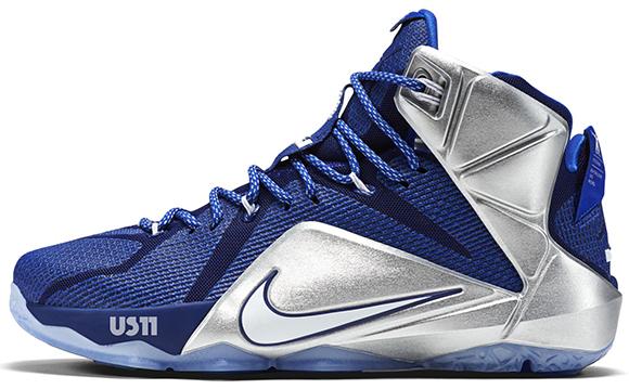 Nike LeBron 12 What If Dallas Cowboys SneakerFiles