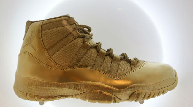 Air Jordan 11 Gold Collection
