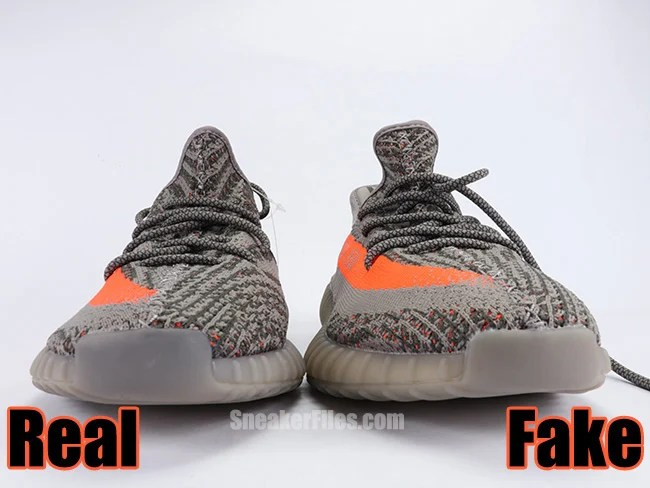 Authorized Unauthorized Yeezy 350 Boost V2 Solar Red Beluga