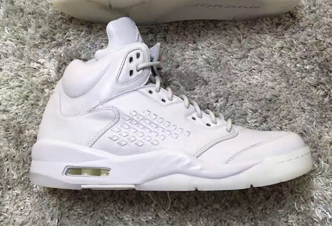 Air Jordan 5 Take Flight Triple White