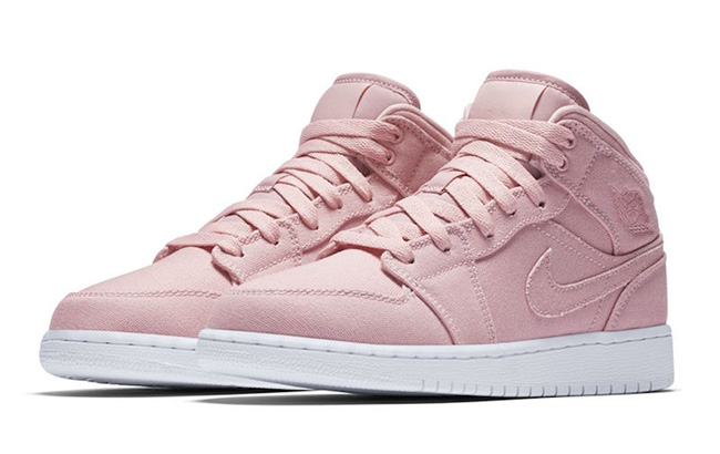 Air Jordan 1 Mid Easter Pack Blue Pink SneakerFiles