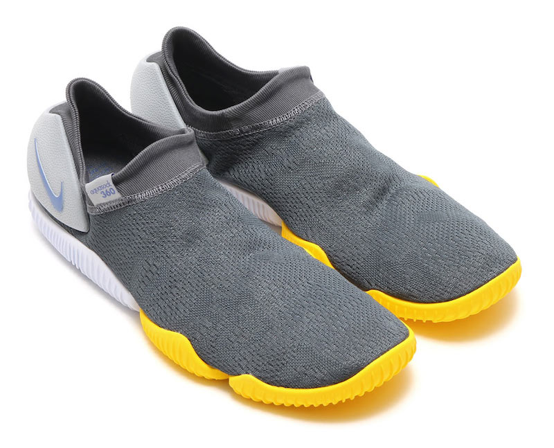 Nike Aqua Sock 360 Grey Yellow