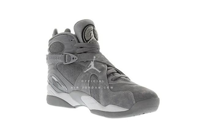 Air Jordan 8 Cool Grey Wolf Grey Release Date