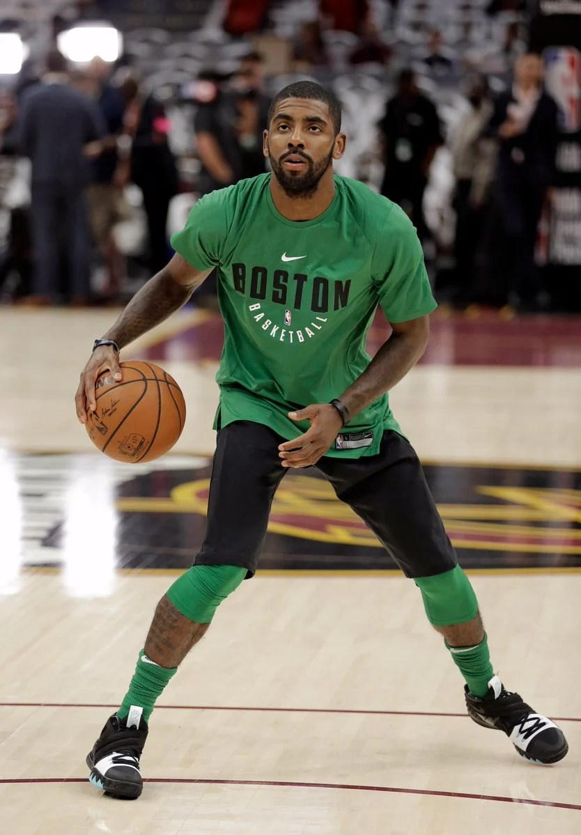 Nike Kyrie Hybrid Celtics Shoe  SneakerFiles