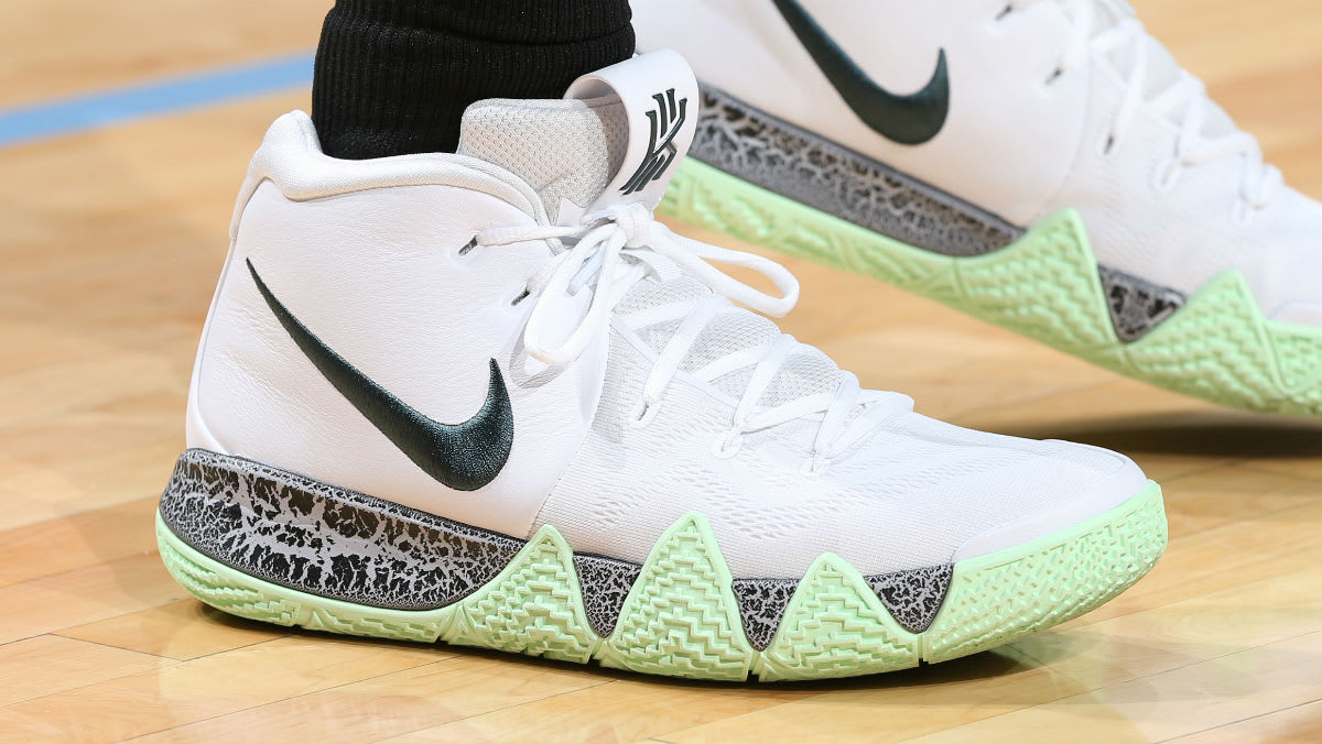 Kyrie Irving Nike Kyrie 4 White Glow In The Dark