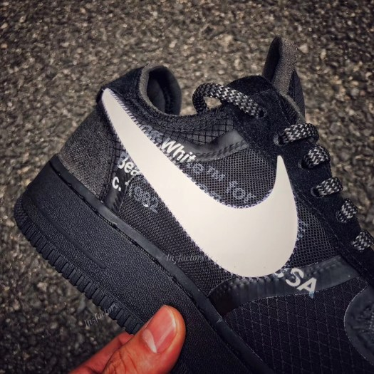 Off-White Nike Air Force 1 Low Black AO4606-001 Release Date