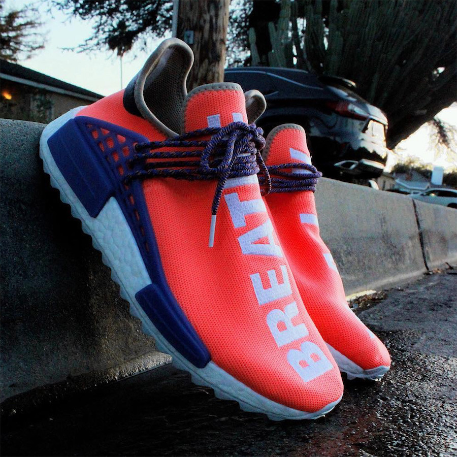 Adidas Women Nmd R1 Pink Raw Trace Legend Ink Year of