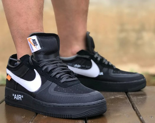 Nike Air Force 1 Low Off-White Black AO4606-001