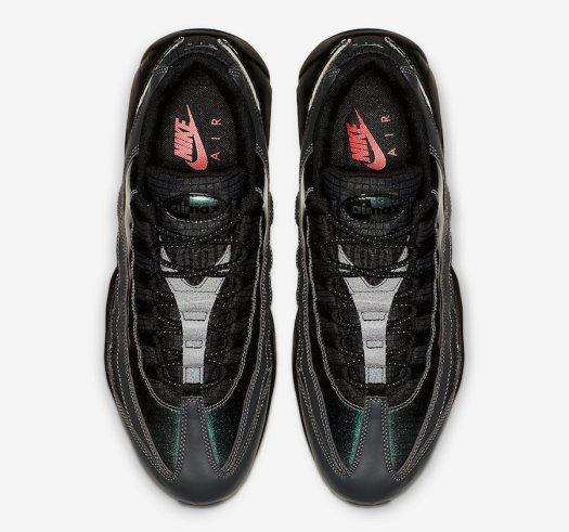 Nike Air Max 95 Black Ember Glow Dark Grey AO2450-001