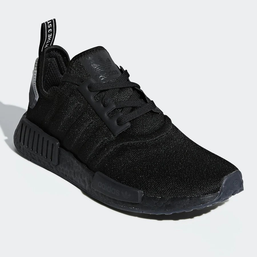 Adidas Nmd R1 Black Volt Bd7751 Release Date Sneakerfiles