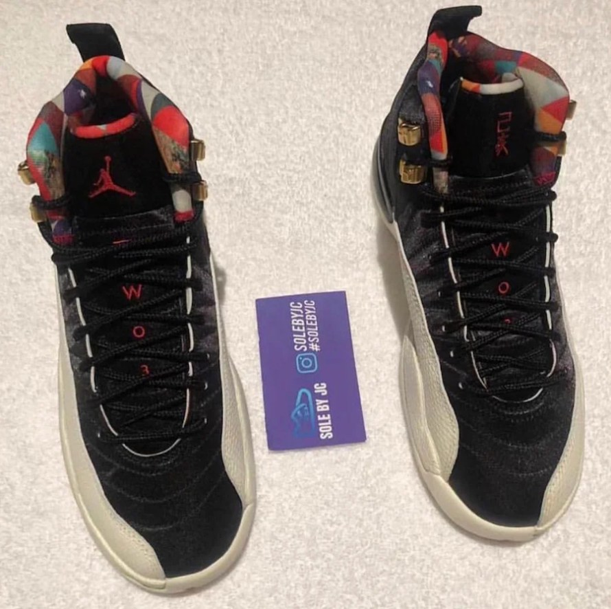 timeless design f36af 701f7 Air Jordan 12 'Chinese New Year' Releasing in Men's and ...