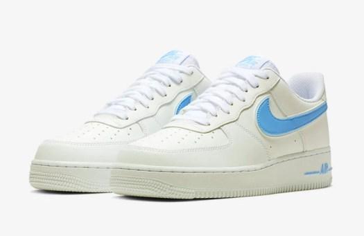 Nike Air Force 1 07 3 White University Blue AO2423-100