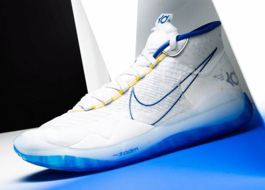 Nike KD 12 Warriors Home AR4229-100 Release Info