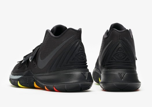 Nike Kyrie 5 Rainbow Soles AO2918-001 Release Date Info