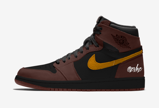 Air Jordan 1 Baroque Brown Black Laser Orange 555088-201 Release Date Info
