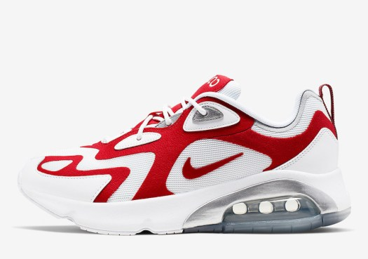 Nike Air Max 200 University Red AQ2568-100 Release Date Info