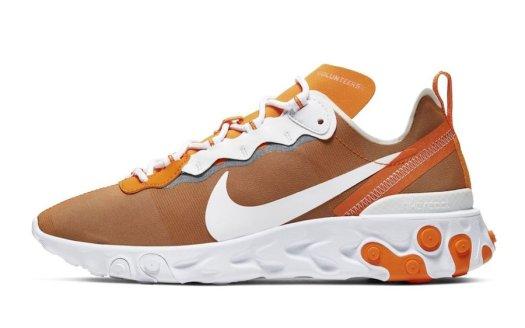Nike React Element 55 Tennessee Volunteers Release Date Info