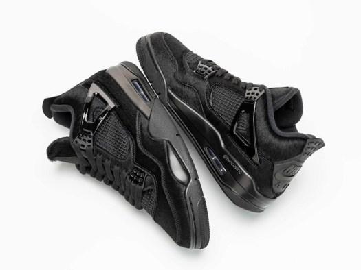 Air Jordan 4 Pony Hair Black Cat Bovine Fur CK2925-001 Release Date