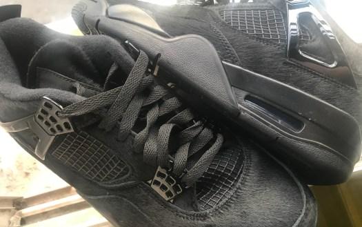 Air Jordan 4 Pony Hair Black Cat Release Date Info