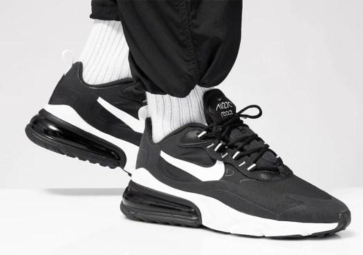 Nike Air Max 270 React Black White AO4971-004 Release Date Info