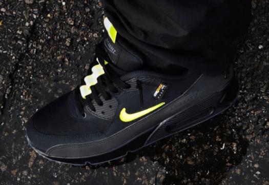 The Basement Nike Air Max 90 Black Volt Release Date