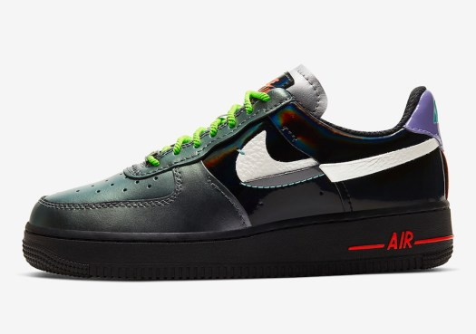Nike Air Force 1 Vandalized Iridescent CT7359-001 Release Date Info