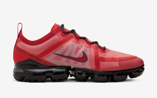 Nike Air VaporMax 2019 Red Crimson AR6631-600 Release Date Info